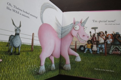 Thelma the Unicorn by Aaron Blabey (Hardback, 2015) Signed by Aaron Blabey